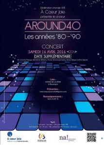 Around 40 - 3e concert