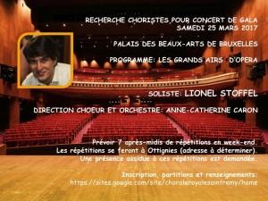 Concert de gala Lionel Stoffel