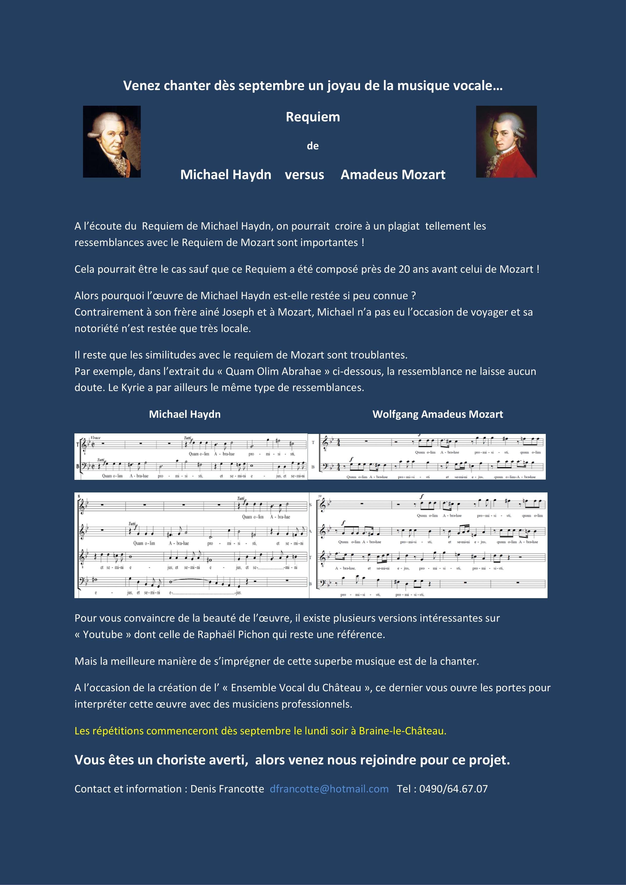 Hayden versus Mozart