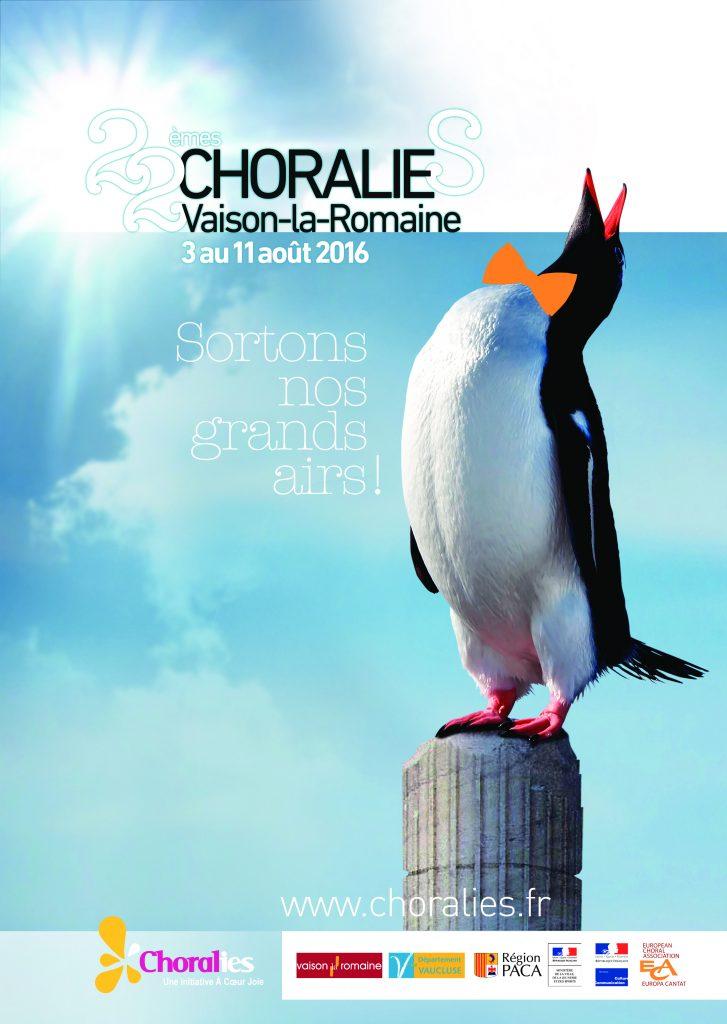 affiche Choralies 2016