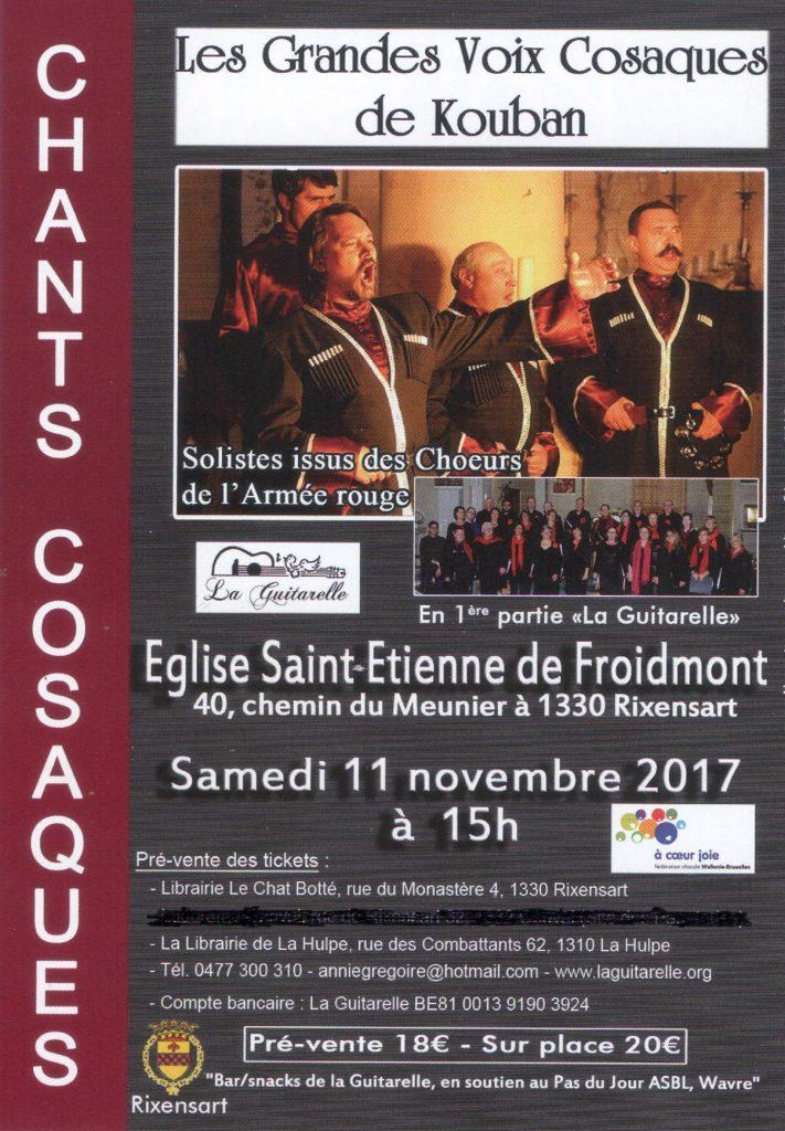 15h Cosaques de Kouban & chorale la Guitarelle,